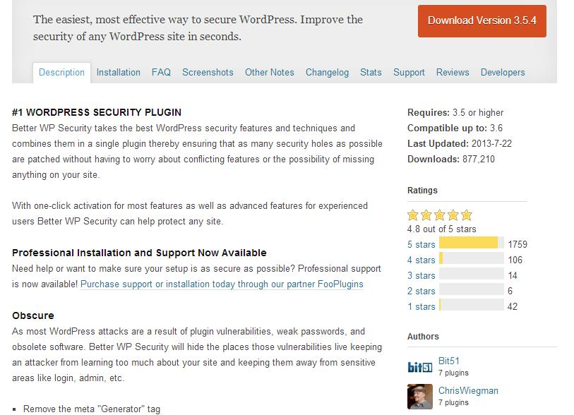 Plugin WordPress WP oficial