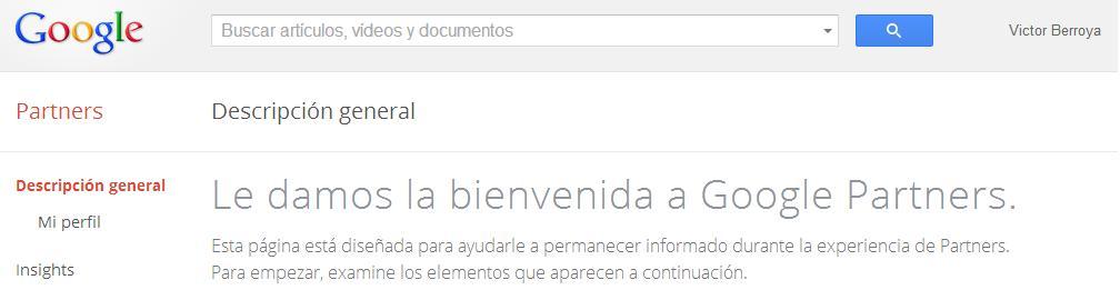 Google Partners, programa de certificación
